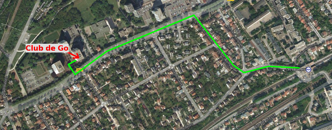 Plan acces Go - 254 rue Adolphe Pajeaud